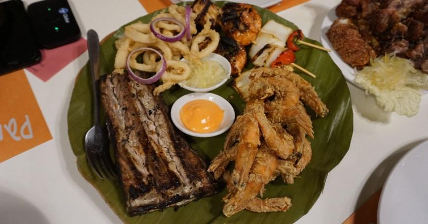 Panagatan Restaurant - seafood bilao