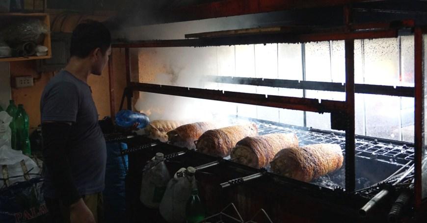 Tatang's Boneless Lechon - lechon pit