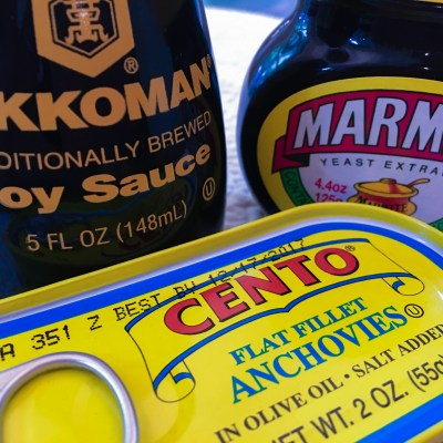 Soy Sauce and Anchovies and Marmite, Oh My!