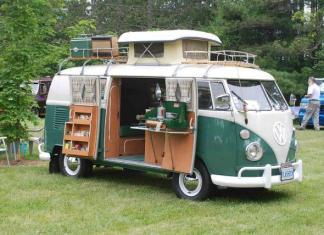 The 1967 Volkswagen camper.