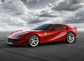 The new Ferrari 812 Superfast will debut at the Geneva Auto Show