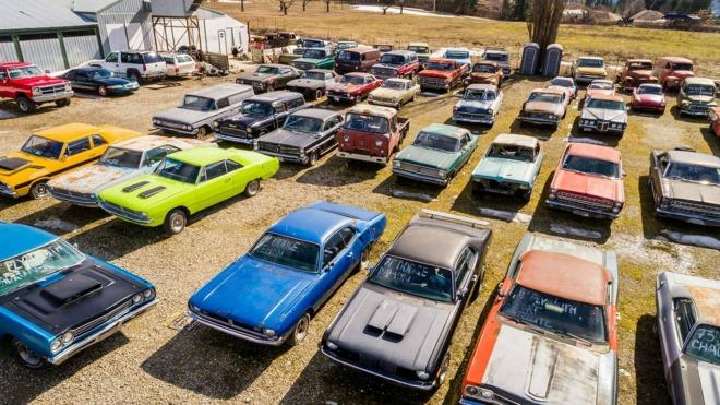For sale: 340 cars, 5 acres in British Columbia for $1 million