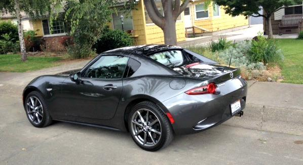 The 2017 Mazda MX-5 Miata RF has a new look inside and outside plus a retractable hardtop