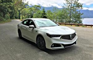 The 2018 Acura TLX has a refreshed interior and exterior.