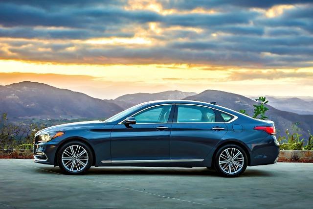 The 2018 Genesis is in its second year as a luxury sedan.