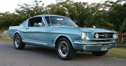 The Ford Mustang is a favorite with a manual or automatic transmission.