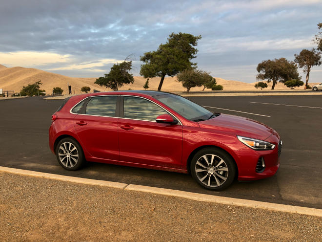 The 2018 Hyundai Elantra GT is a new addition to the compact hatchback's lineup.