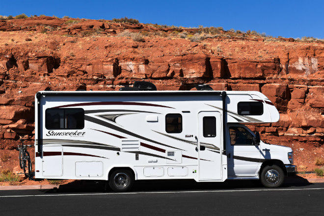 Bruce Aldrich and his wife Alene spent 17 days on an RV vacation.
