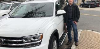 Chris Wood shopped for six months before purchasing a 208 Volkswagen Atlas.