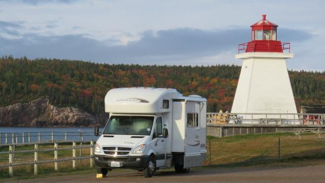 Despite the problems of the RV industry. mobile travel often showcases the beauty of the open road.