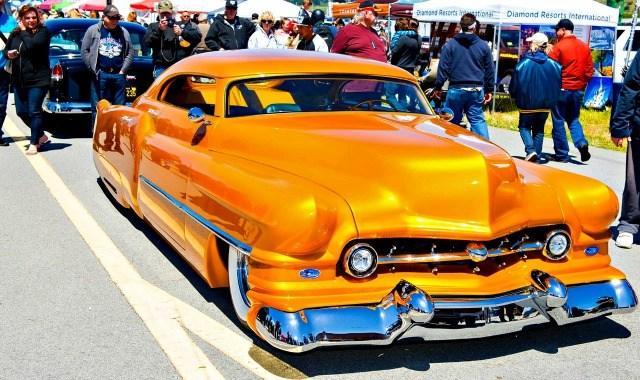 Custom choppers are featured in the Pacific Coast Dream Machines show scheduled April 29 at the Half Moon Bay Airport.