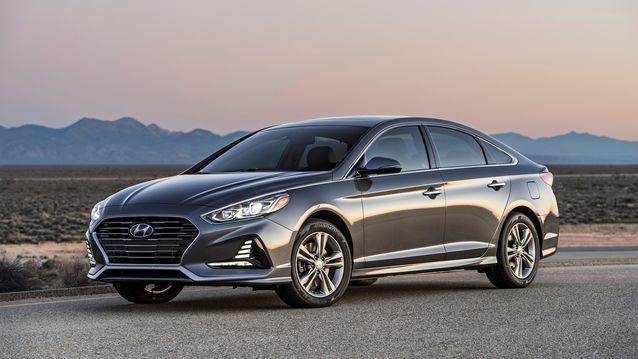 The 2018 Hyundai Sonata is a strong alternative in the midsize category instead of the Honda Accord or Toyota Camry.