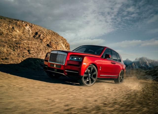 Rolls-Royce will soo debut its first SUV, Cullinan