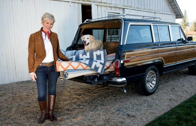 Kerrie Kelly owns a BMW sedan, but she prefers driving a 1986 Jeep Wagoneer. Images © Bruce Aldich/2018 and courtesy of Kerrie Kelly.