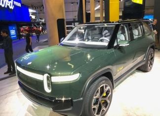 The Rivian concept is an all-electric SUV with 0-60 mph speed in 3.0 seconds and a 400-mile range.