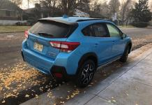 The 2019 Subaru Crosstrek Hybrid has limited back cargo space.