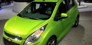 The Lime Green 2015 Chevy Spark wasn't even the brightest color at the LA Auto Show.