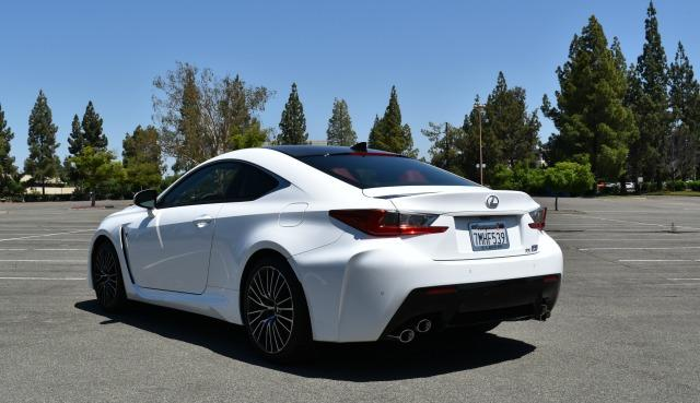 2016 Lexus RC F: Luxury sports car rules the road