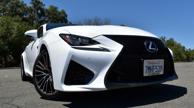 2016 lexus rc f luxury sports car rules the road. Black Bedroom Furniture Sets. Home Design Ideas