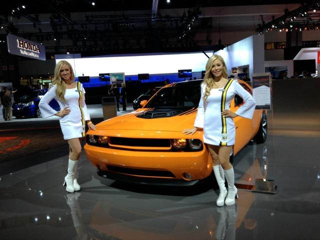 Manufacturer specialists, once know as Sirens are an enduring tradition of the LA Auto Show.