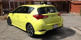 The 2016 Scion iM is a new sub-compact hatchback.