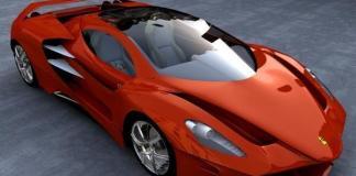 The new Ferrari LaFerrari hybrid.