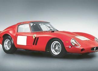 A 1962-63 Ferrari 250 GTO Bernillata.
