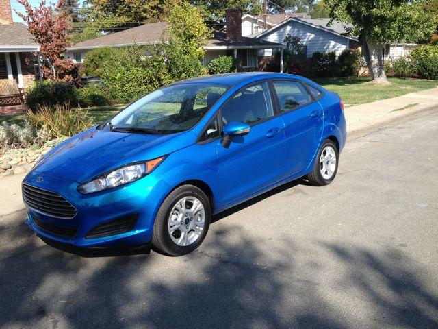 The 2014 Ford Fiesta has an interior and exterior makeover.