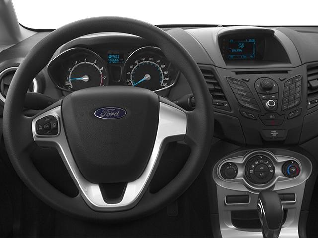The 2014 Ford Fiesta has a Euro-style look inside and out.