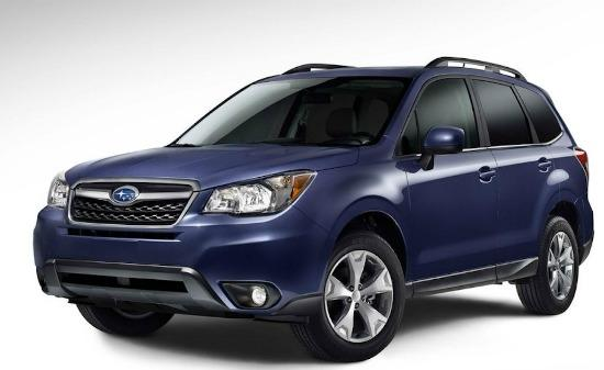 The 2014 Subaru Forester is newly designed.