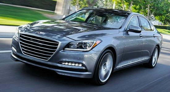 The 2015 Hyundai Genesis is the first year of sedan's second generation.