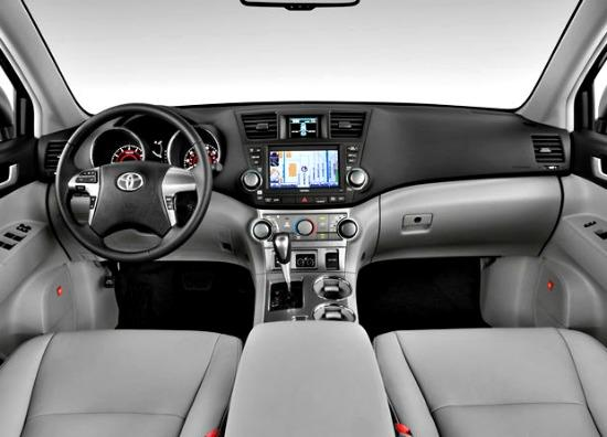 The 2013 Toyota Highlander has a spacious interior