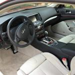The interior design of the 2014 Infiniti Q60 complements the exterior.
