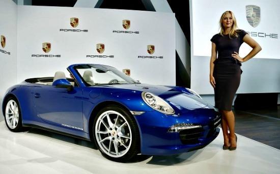 Porsche ambassador Maria Sharapova