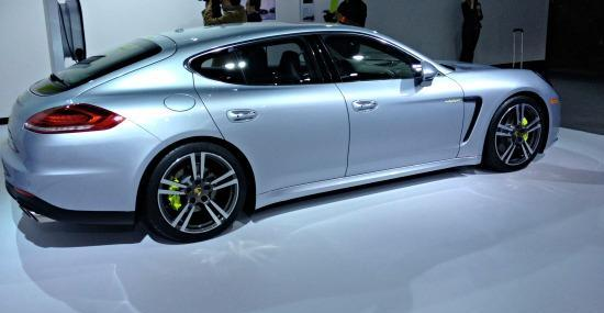 The 2013 Porsche Panamera has a good depreciation value