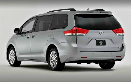 The 2013 Toyota Sienna is a versatile family van.
