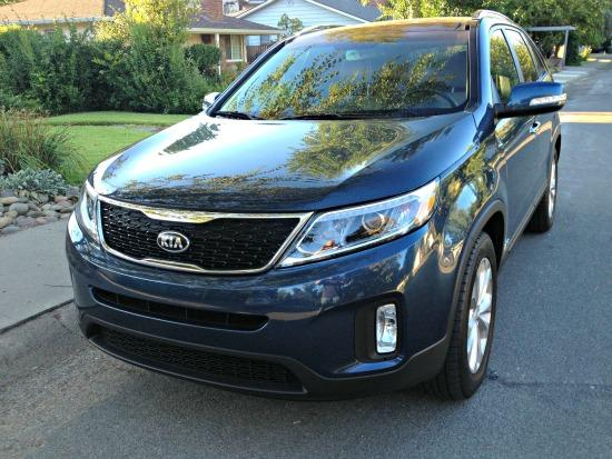 The 2014 Kia Sorento is new inside and out