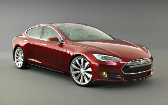 The 2014 Telsa Model S was names Consumer Reports' best overall vehicle