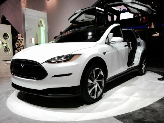 Tesla has unveiled its $130,000 Model X SUV.