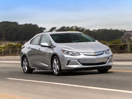 The 2016 Chevrolet Volt was named Green Car of the Year.