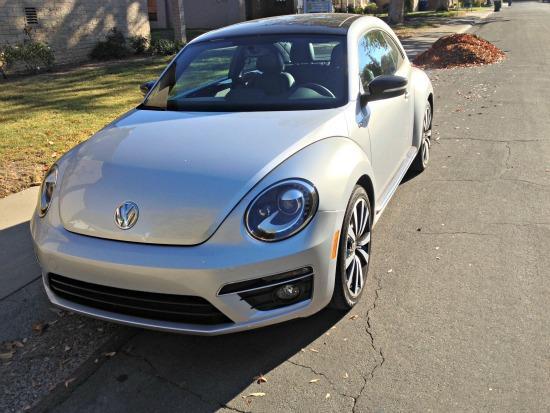 The 2014 Volkswagen Beetle has a new design.