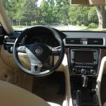 The interior of the 2014 Volkswagen has clean, efficient and spacious interior.