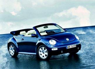 2003 Volkswagen GLS Convertible.