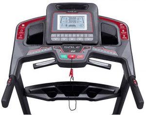 Display - Sole Fitness F80 Specs