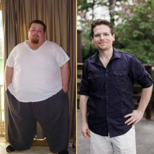 My Diet At 420 Pounds vs. 155 Pounds