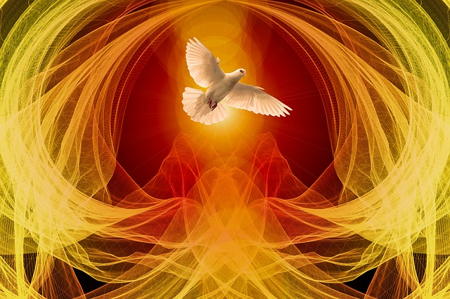 image relating to Come Holy Spirit Prayer Printable named The Feast of Pentecost The Effectively