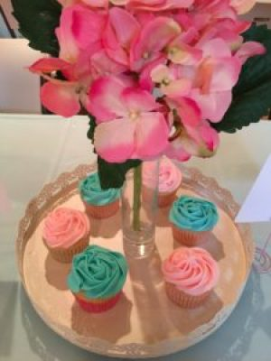 Decorated Cupcakes - Buttercream Icing