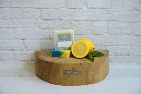 cbd soap lemon splash
