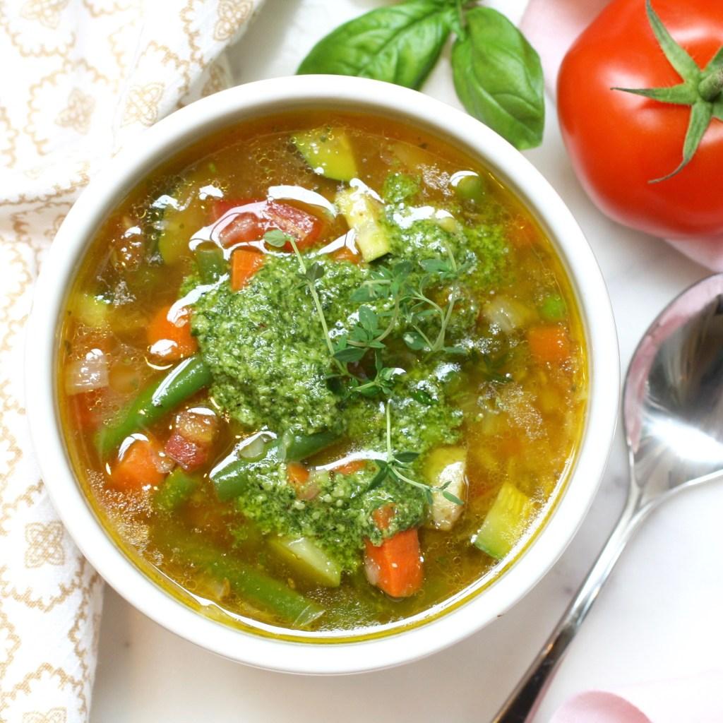Vegetable Pistou Soup
