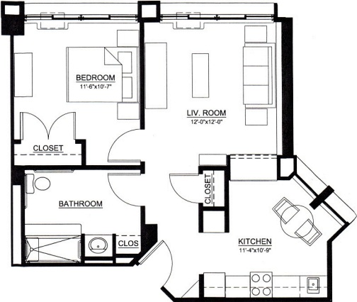 One and Two Bedroom Senior Living Apartments in Saratoga